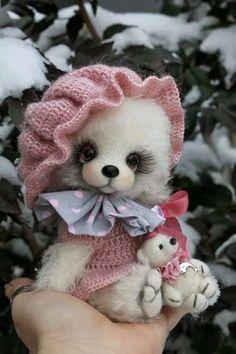 Snow in March by Sadovskaya Tatiana   Bear Pile