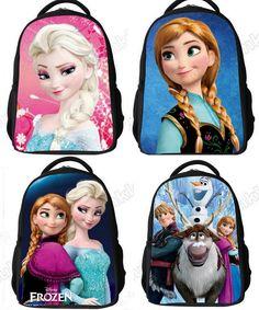 FROZEN Backpacks - 4 Designs - Girls Backpacks Elsa Anna Olaf - NEW Great Price