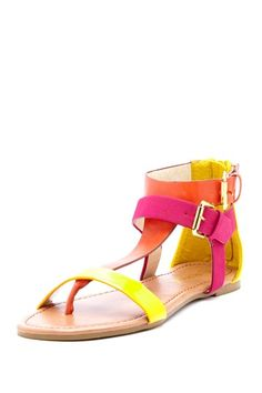 Pinky Summer T-Strap Sandal