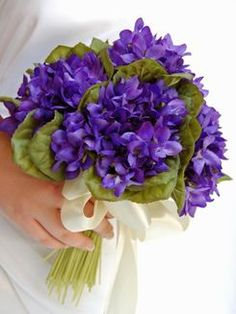 Violet Posy...My grandmother's favorite flower,this and Lily of the Valley.