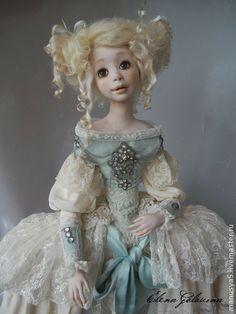 "Кукла ""Марципан"". Handmade."