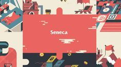 Joe Donaldson and Jay Quercia, alongside Gloss Creative of Canada. Have created this fantastic short for Seneca College showcasing their brillaint design and animation skills.