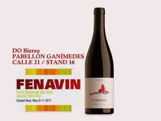 FENAVIN- nuestra próxima feria Feria Nacional del Vino, del 9 al 11 de mayo de 2017, la feria de referencia del vino español. Pabellón Ganímedes, stand del DO Bierzo Ciudad Real. España. http://www.fenavin.com/fichaExpositor.php?e=806&b=2