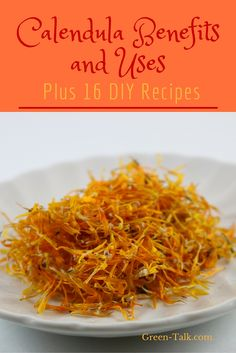 Calendula Benefits are numerous. It is a must have herb for your medicine cabinet.  Learn why and how to make lotions, balms & creams with it. #annaleeherbs #herbs