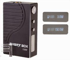 Vapor Joes - Daily Vaping Deals: GREAT PRICE: THE SMART BOX 150 WATT MOD - $52.28