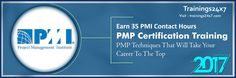 Get PMP certification with Trainings24x7 then you will be systematically trained in PMP with us. What's Included in the Training? 1. 4 days training divided into two weekends 2. 35 Contact hours / pdu certificate 3. Mobile apps 4. Study material 5. Formula book 6. 4 full length simulation test (4 Hours, 200 Questions per simulated test) 7. Quality training by the pmp® certified and industry experts 8. 100% passing guarantee (Read T&C)