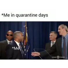 Quarantine days be like - Memes Funny Shit, Really Funny Memes, Funny School Memes, Crazy Funny Memes, Funny Video Memes, Funny Laugh, Stupid Memes, Funny Relatable Memes, Haha Funny
