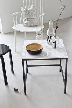DIY-table. Musta ovi blog