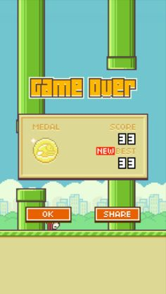 Flappy bird is awesome!