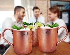 Copper mule mugs are key in perfecting the Moscow Mule. Our Copper Moscow Mule Mugs are of the finest quality, made from solid copper. Best Moscow Mule, Moscow Mule Cups, Copper Cups, Copper Moscow Mule Mugs, Free Samples By Mail, Food And Drink, Drinks, 1 Year, Handle