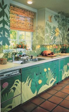Kitchen. Los Angeles Times California Home Book