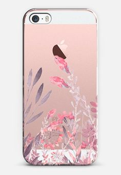 Pretty In Pink iPhone SE case by Allison Reich | Casetify