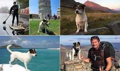 Captain Jack: Meet Skipper the adorable globetrotting Jack Russell