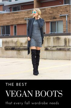 The BEST vegan boots for fall. Vegan boots for every outfit. Vegan Clothing, Ethical Clothing, Ethical Fashion, Vegan Fashion, Slow Fashion, Fashion Moda, Womens Fashion, Vegan Boots, Fall Wardrobe