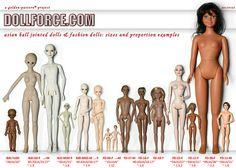 BJD and Fashion Doll measurement list. Many brand names are listed. Bjd Dolls, Doll Toys, Barbie Dolls, Make Tutorial, Doll Tutorial, Set Fashion, Fashion Dolls, Doll Crafts, Diy Doll