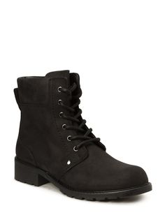 Orinoco Spice (Black Leather) (1399 kr) - Clarks | Boozt.com Clarks, Combat Boots, Black Leather, Spice, Fashion, Moda, La Mode, Combat Boot, Spices