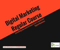 Become a certified Digital Marketing Specialist with in 2.5 months with all new job oriented #DigitalMarketingCourse at #DMWizard. Reach us to start your dream career! For Enquiry, Call Us @ 9061645458   Website: www.dmwizard.in