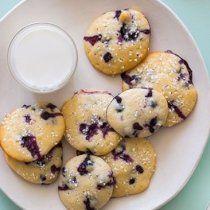 Receta de Galletas de Blueberry y Yoghurt