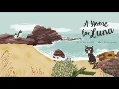 When Luna washes up on a strange shore she is scared and lonely. She soon discovers there is beauty in her new land, and along the way makes unexpected frien. Loneliness, Addiction, Friendship, Animation, Illustration, Youtube, Movie Posters, Solitary Confinement, Film Poster