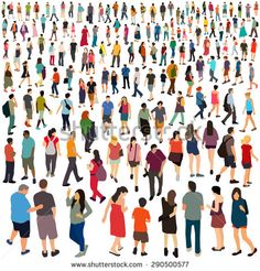 Large group of people Vector illustration is part of Large Group Of People Silhouettes Vector Illustration - Large group of people Vector illustration People Cutout, Cut Out People, Architecture People, Architecture Drawings, Painting People, Drawing People, Character Illustration, Graphic Design Illustration, Fish Illustration
