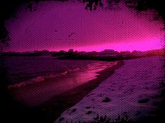 #Purple? Yes.. Always! Karmøy, Norway; #photo manipulation by Tone Lepsøe ♥ #DigitalArt