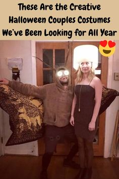 It's the spookiest time of the year, and we know you're scrambling for a costume idea. And if you are hoping to share the fun and excitement with a friend or a partner, you need extra creativity to truly master that plan. We've found couples costumes that really take dressing up to the next level, and we've honestly never seen anything quite like them before. Check out the best of the best, and feel free to steal!