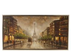 A lovely callback to earlier times, this wall art is a beautiful way to give your space the ambience you crave. It adds a perfect dash of elegance with its charming depiction of the Eiffel Tower and subtle sepia tones.