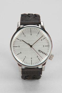 KOMONO Winston Woven Watch