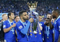 Leicester star Riyad Mahrez and Manchester United ace Anthony Martial scoop top prizes at 2016 Facebook Football Awards