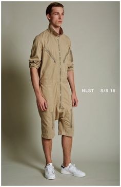 Enlisting Style Aficionados: NLST Does Army Chic for Spring 2015 Collection