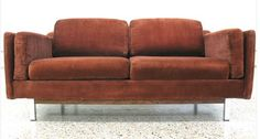 Monroe Selig Loveseat Sofa Couch 2 Seater —