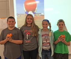 South Marshall Middle School 1st Annual Miniature Pumpkin Chunkin Contest