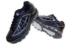 Nike Air Max Hitam Silver