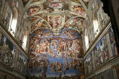 The ultimate mural - The Sistine Chapel