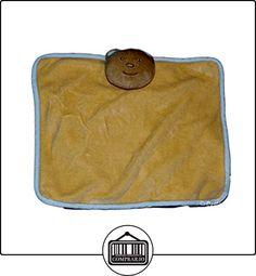 Doudou plana oso naranja salmón Apricot azul-Tex Carrefour-20x 24cm  ✿ Regalos para recién nacidos - Bebes ✿ ▬► Ver oferta: http://comprar.io/goto/B01DLNE8NC