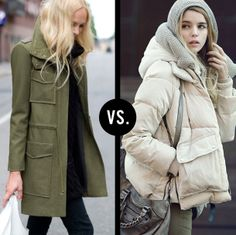 Dig the wool jacket