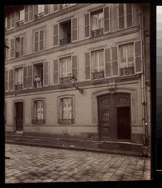 Maison 4 cite Gaillard Centre de resistance contre le coup d'etat de 1852 (9e) - Eugène Atget