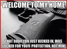 Welcome to my #home. #2A #NFDNetwork