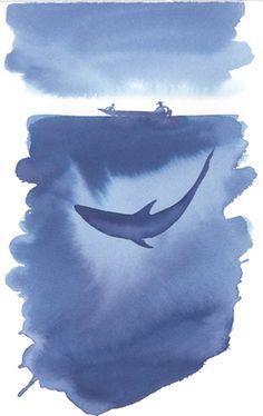 """immagine tratta da """"Racconti del mare"""" di Folco Quilici. Edizioni Mondadori."""