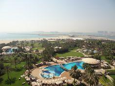 Grounds of the Le Royal Meridien Beach & Spa Resort at Jumeirah Beach, Dubai, United Arab Emirates