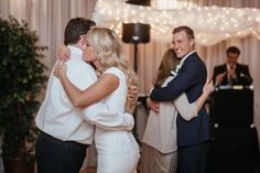 Matt Shumate Photography LDS church wedding reception father and bride / mother and son dance