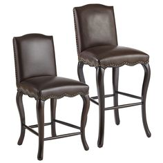 Claudine Bar & Counter Stools - Brown | Pier 1 Imports