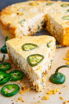 Dad loves cheesecake so why not surprise him with a savoury take on cheesecake for dinner this Father's Day? Jalapeno poppers are one of my favourite foods and they consist of jalapeno peppers stuffed