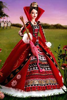 .red queen barbie Alice in Wonderland
