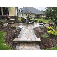 Edit project Brick Paver Patio, Wall Design, Landscape, Outdoor Decor, Home Decor, Courtyards, Landscape Paintings, Interior Design, Home Interior Design
