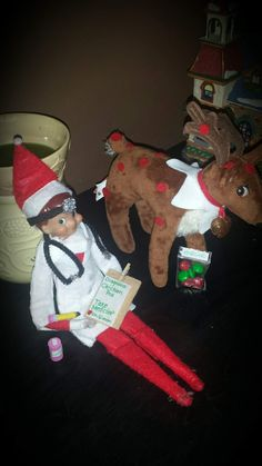 Elf on the shelf doctor