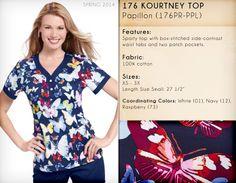 176 KOURTNEY TOP | 176PR-PPL (Papillon)