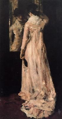 The Mirror - William Merritt Chase