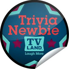 TV Land: Trivia Newbie Sticker | GetGlue