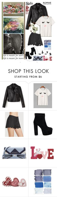 """""""Life is meant for more...."""" by fashionqueen76 ❤ liked on Polyvore featuring Karl Lagerfeld, Jayson Home, Jellycat, romwe, Sheinside and shein"""